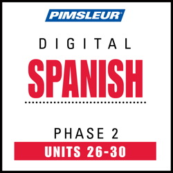 Spanish Phase 2, Unit 26-30