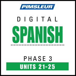 Spanish Phase 3, Unit 21-25