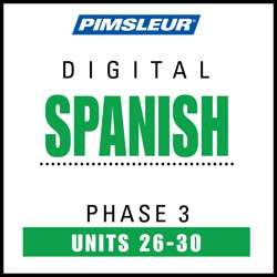 Spanish Phase 3, Unit 26-30