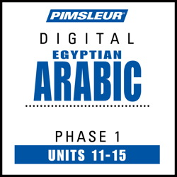 Arabic (Egy) Phase 1, Unit 11-15