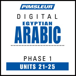 Arabic (Egy) Phase 1, Unit 21-25