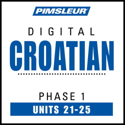 Croatian Phase 1, Unit 21-25