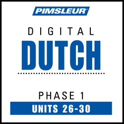 Dutch Phase 1, Unit 26-30