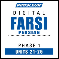 Farsi Persian Phase 1, Unit 21-25