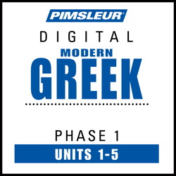 Greek (Modern) Phase 1, Unit 01-05