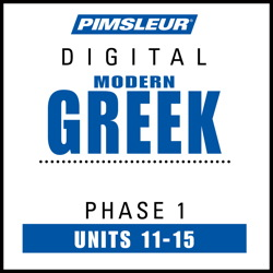 Greek (Modern) Phase 1, Unit 11-15