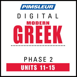 Greek (Modern) Phase 2, Unit 11-15