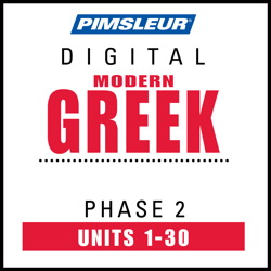 Greek (Modern) Phase 2, Units 1-30