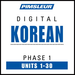 Korean Phase 1, Units 1-30