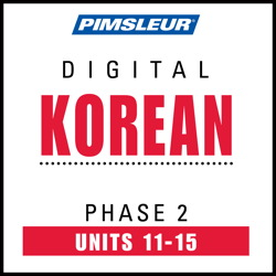 Korean Phase 2, Unit 11-15