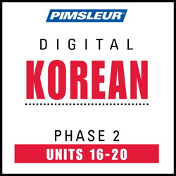 Korean Phase 2, Unit 16-20