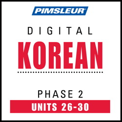 Korean Phase 2, Unit 26-30
