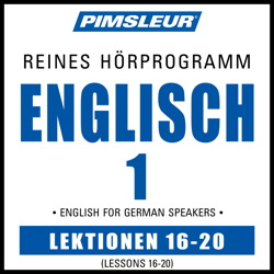 ESL German Phase 1, Unit 16-20