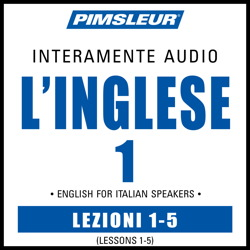 ESL Italian Phase 1, Unit 01-05