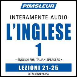 ESL Italian Phase 1, Unit 21-25