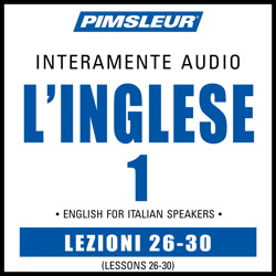 ESL Italian Phase 1, Unit 26-30