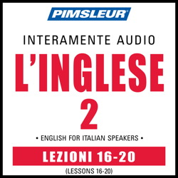 ESL Italian Phase 2, Unit 16-20