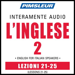 ESL Italian Phase 2, Unit 21-25