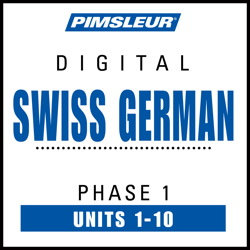 Swiss German Phase 1, Units 1-10