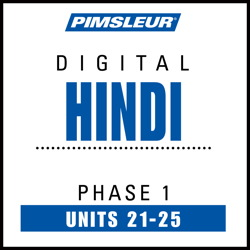 Hindi Phase 1, Unit 21-25