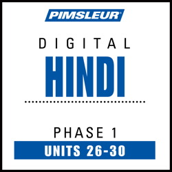 Hindi Phase 1, Unit 26-30