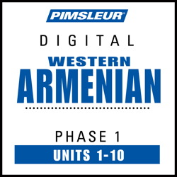Pimsleur Armenian (Western) Level 1 MP3