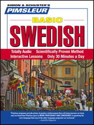 Pimsleur Swedish Basic Course - Level 1 Lessons 1-10 CD