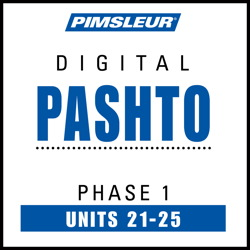 Pashto Phase 1, Unit 21-25