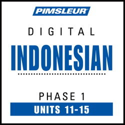 Indonesian Phase 1, Unit 11-15