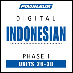 Indonesian Phase 1, Unit 26-30