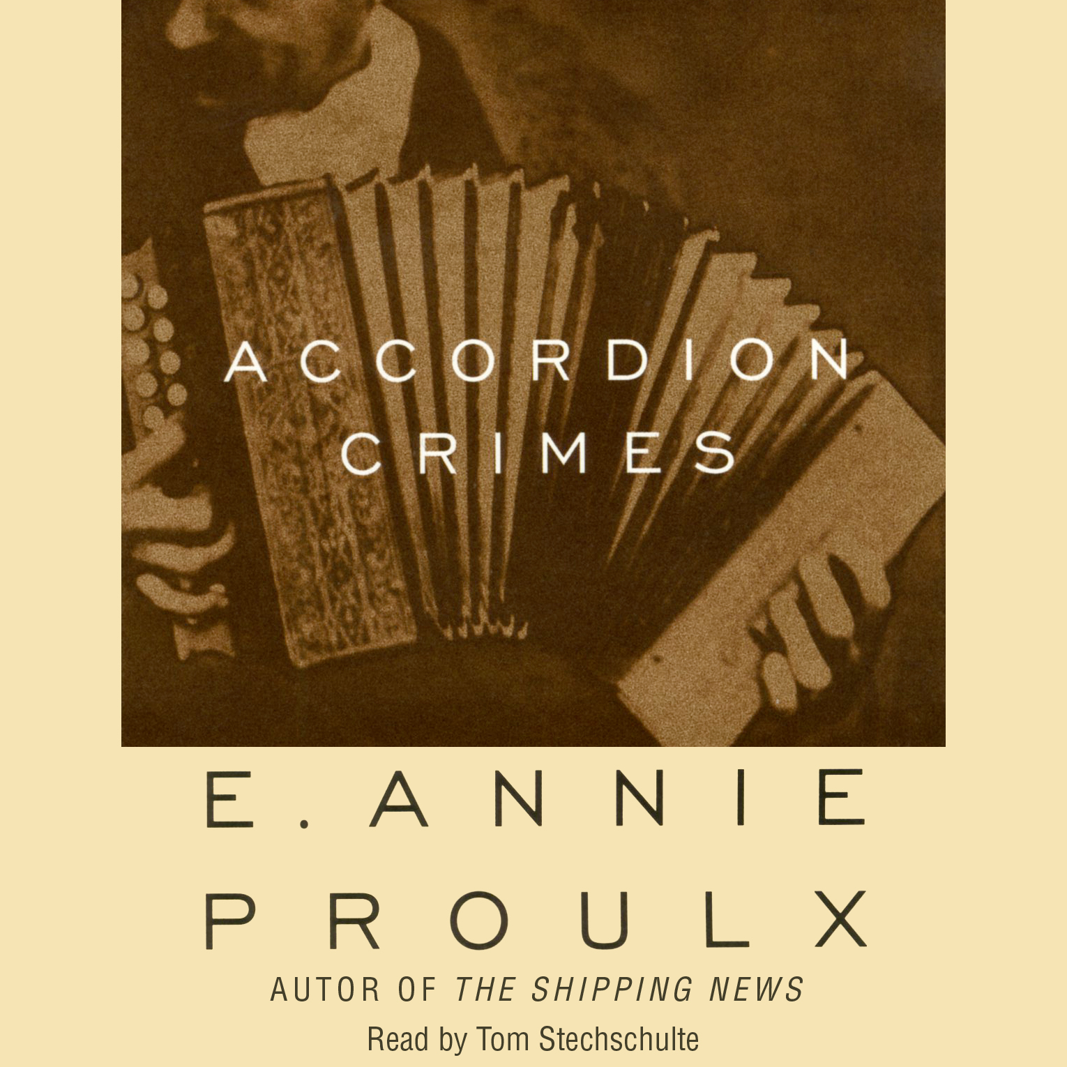an overview of the novel accordion crimes by e annie proulx Accordion crimes e annie proulx, author, annie proulx, author simon  the novel follows a vividly realized cast of characters, whose names are as colorful as their stories: ludwig messermacher.