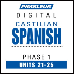 Castilian Spanish Phase 1, Unit 21-25