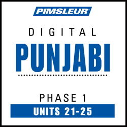 Punjabi Phase 1, Unit 21-25