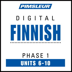 Finnish Phase 1, Unit 06-10