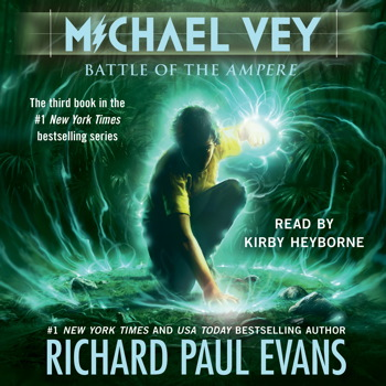 a literary analysis of michael vey the battle of the ampere by richard paul evans Read common sense media's the prisoner of cell 25: michael vey, book 1  review,  a character uses psychic powers to cause physical pain  author  richard paul evans created likable characters and put them in suspenseful  situations.