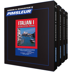 Pimsleur Italian Levels 1-4 CD