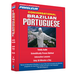 Pimsleur Portuguese (Brazilian) Conversational Course - Level 1 Lessons 1-16 CD