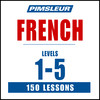 Pimsleur French Levels 1-5 MP3