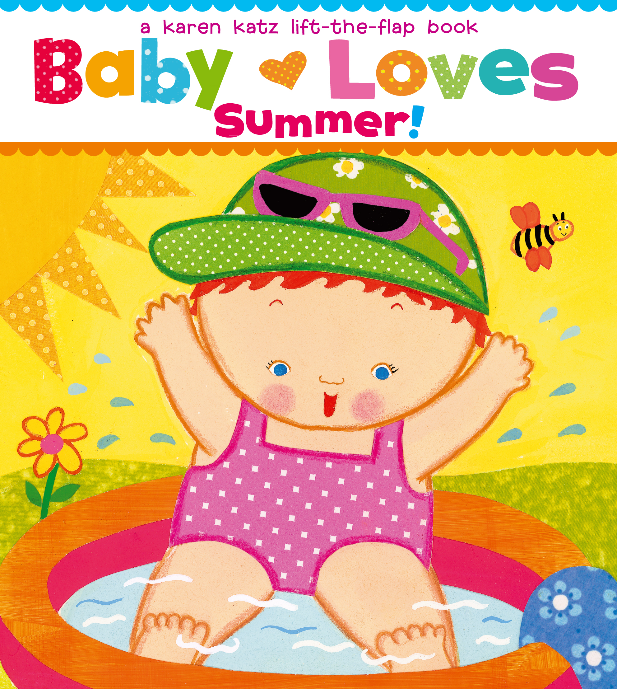 Book Cover Image (jpg): Baby Loves Summer!