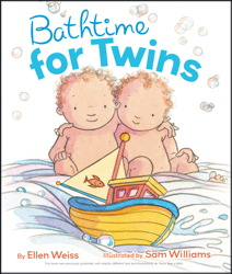 Bathtime for Twins