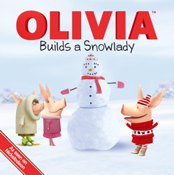 OLIVIA Builds a Snowlady