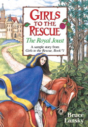 Girls to the Rescue (free sample story) The Royal Joust