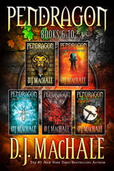 Pendragon Books 6-10