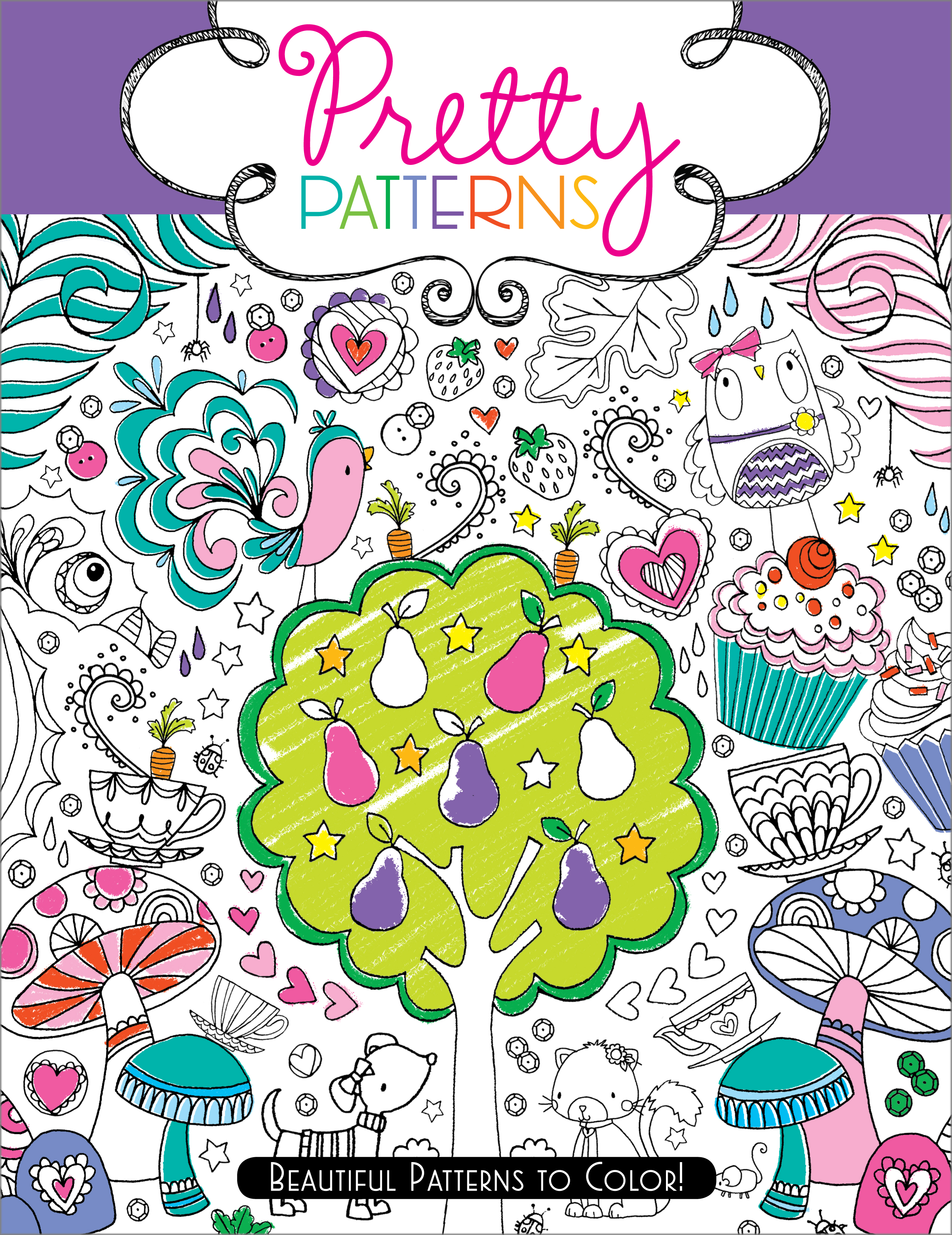 Pretty Patterns Colouring Book : Pretty patterns book by hannah davies beth gunnell