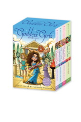 Goddess Girls Books #1-4 (Charm Bracelet Inside!)