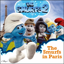 The Smurfs in Paris