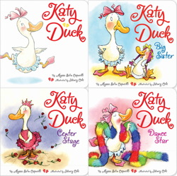 Katy Duck board book 4-pack