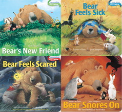 Bear Board Book 4-pack