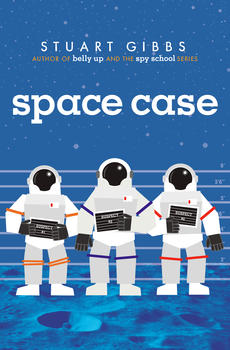 stuart gibbs books: space case, belly up, poached, spy school, spy camp