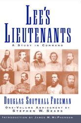 Lees Lieutenants 3 Volume Abridged